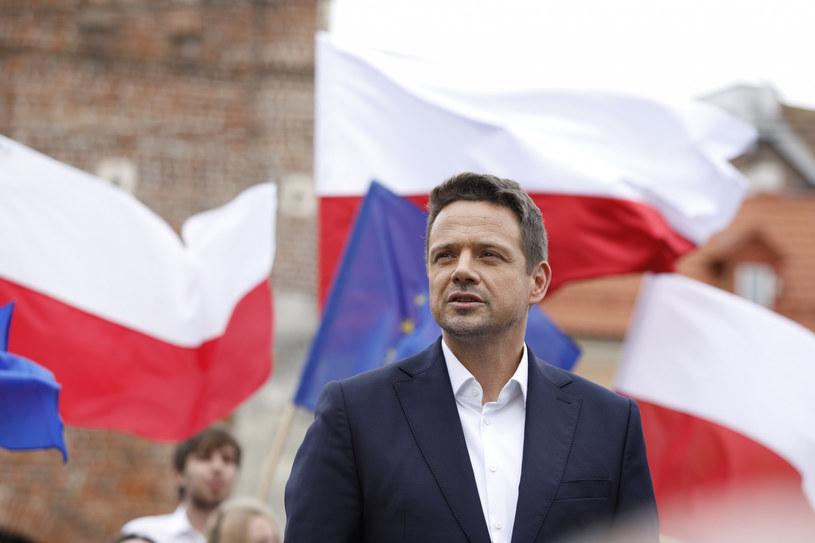 Spotkanie Rafała Trzaskowskiego z mieszkańcami Lublina /Bartlomiej Wojtowicz /Reporter