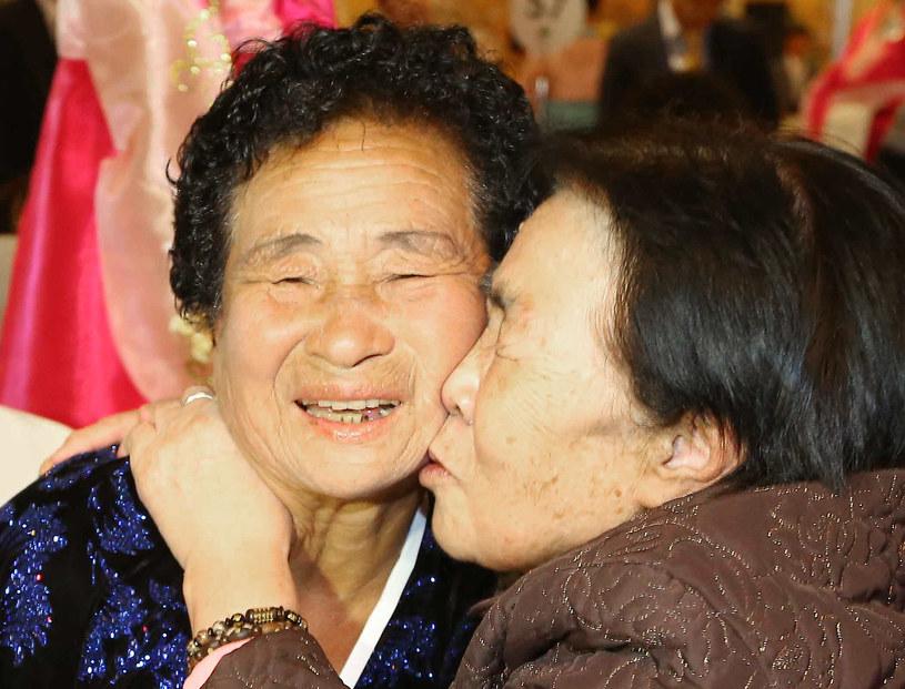 Spotkanie rodzin rozdzielonych przez wojnę koreańską /AFP