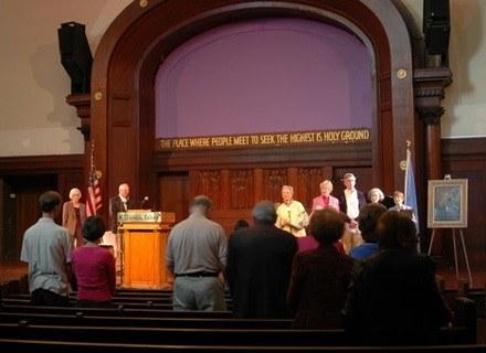 Spotkanie Stowaryszenia na rzecz Etycznej Kultury. Nowy Jork, 18 maja 2008 /AFP