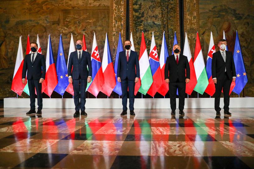 Spotkanie Szefów Rządów Grupy V4 w lutym w Krakowie /Beata Zawrzel/REPORTER /East News