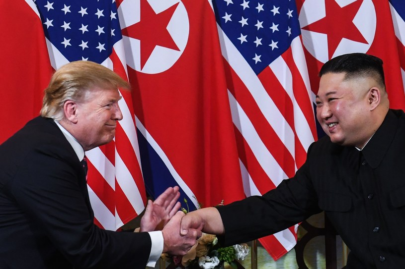 Spotkanie Trumpa i Kima /AFP