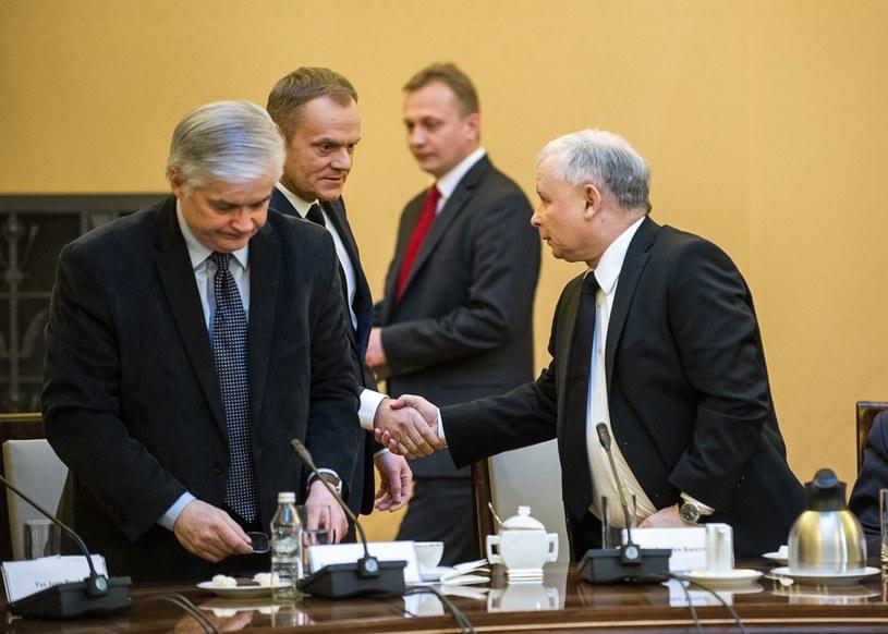 Spotkanie u premiera w sprawie napiętej sytuacji na Ukrainie /Bartosz Krupa /East News