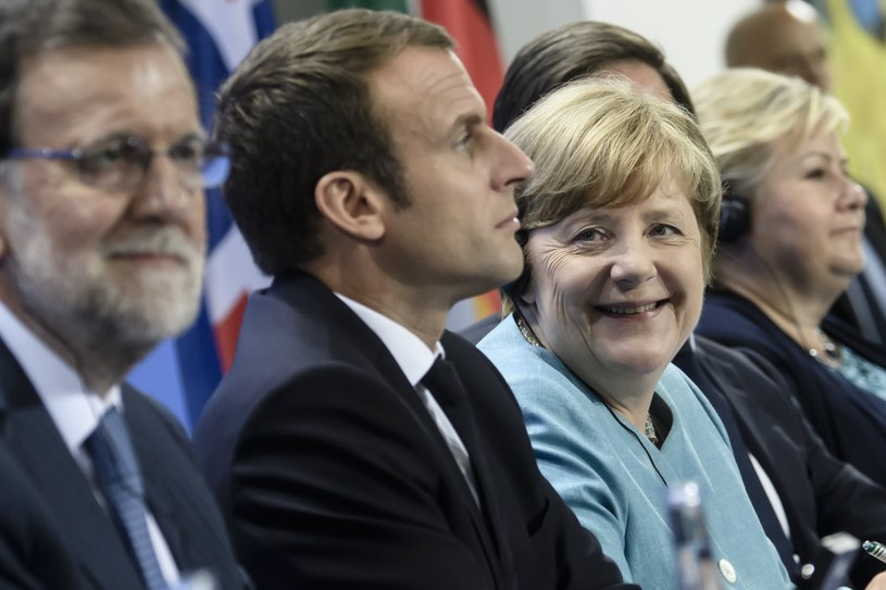 Spotkanie w Berlinie przed szczytem G20 /Clemens Bilan /PAP/EPA