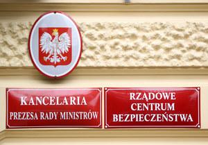 Spotkanie w sprawie koronawirusa w Rządowym Centrum Bezpieczeństwa