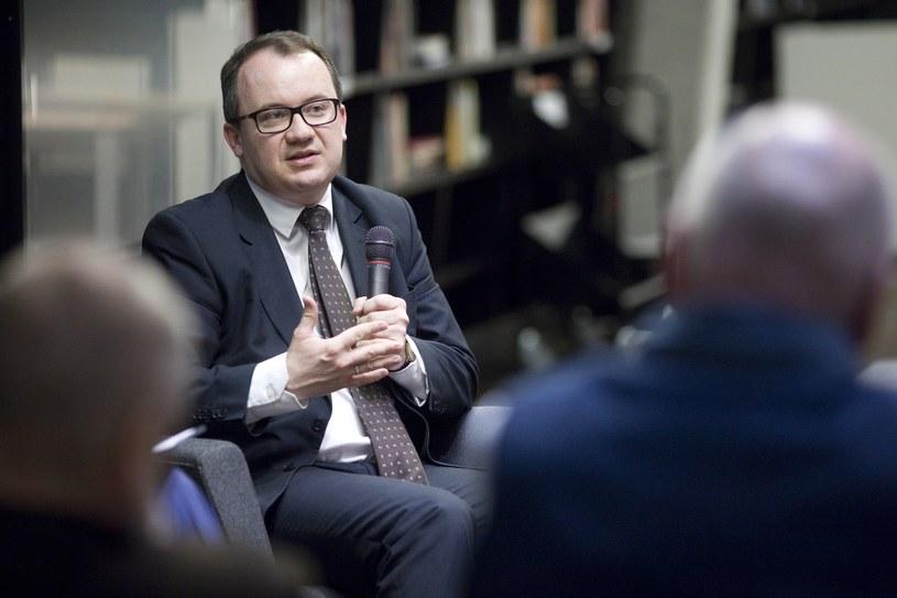 Spotkanie z Adamem Bodnarem w Europejskim Centrum Solidarności /Krzysztof Mystkowski  /Reporter