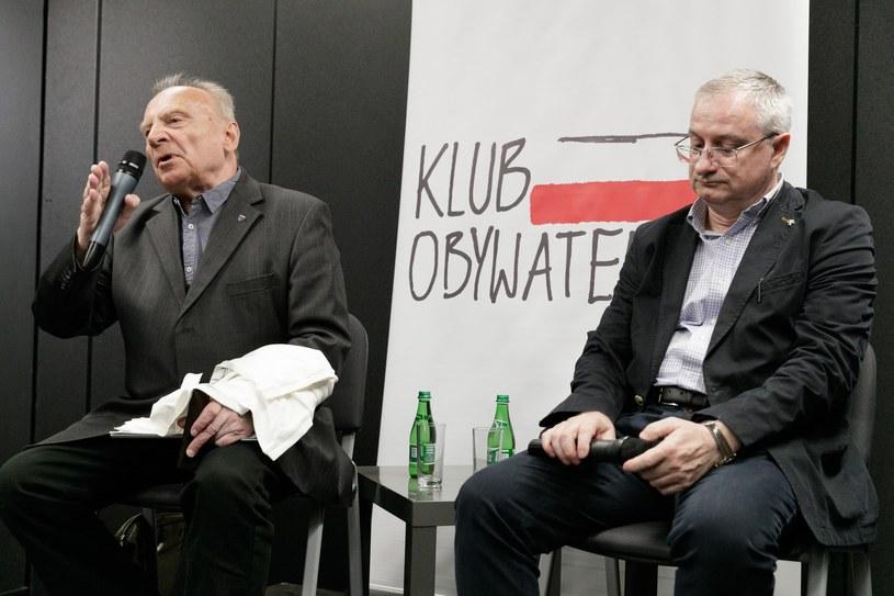 Spotkanie z udziałem Andrzej Milczanowskiego i Krzysztof Bondaryka /Robert Stachnik /Reporter