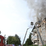 Spowodował ogromny pożar bloku. 61-latek trafi do aresztu na 3 miesiące