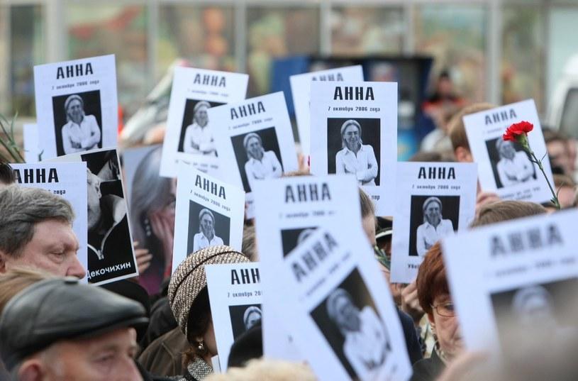 Sprawa Anny Politkowskiej wciąż budzi kontrowersje; zdj. ilustracyjne /East News