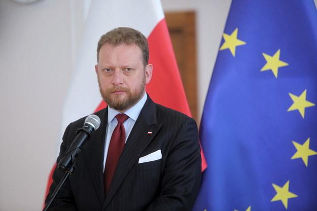 Sprawa dotyczy plakatów uderzających w ministra zdrowia Łukasza Szumowskiego /Wojciech Olkuśnik /PAP