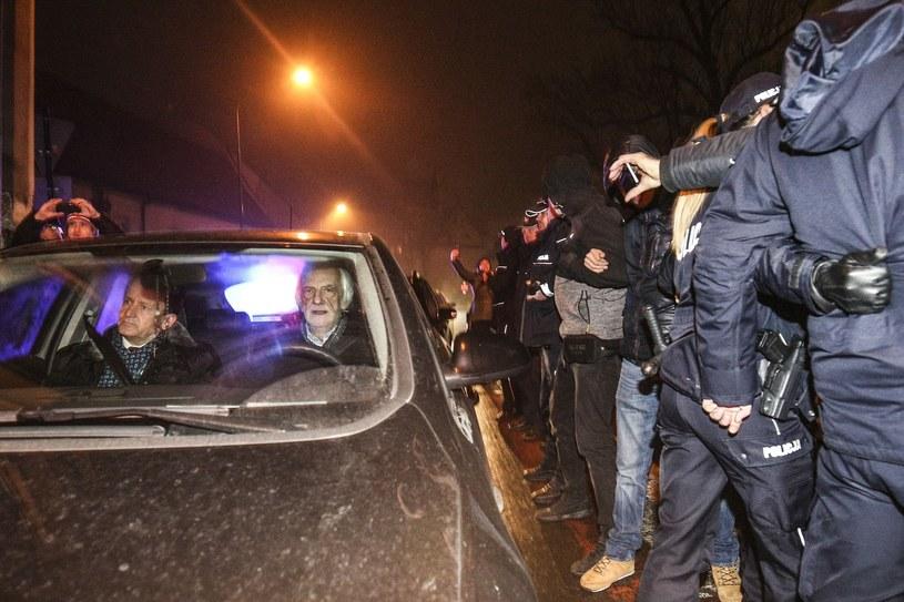 Sprawa dotyczy próby zablokowania wjazdu na Wawel politykom PiS 18 grudnia 2016 r. /Beata Zawrzel /Reporter