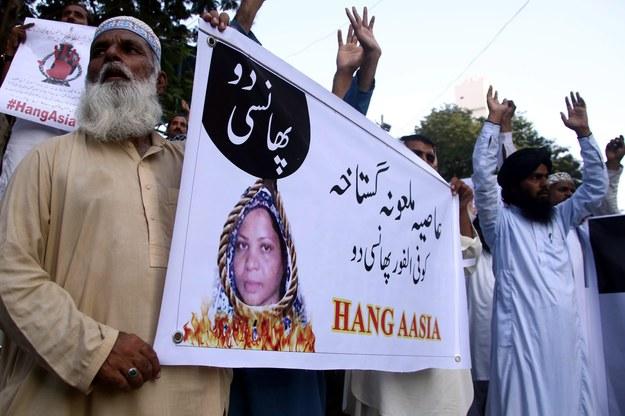 Sprawa Pakistanki oburzyła chrześcijan na całym świecie / SHAHZAIB AKBER    /PAP/EPA