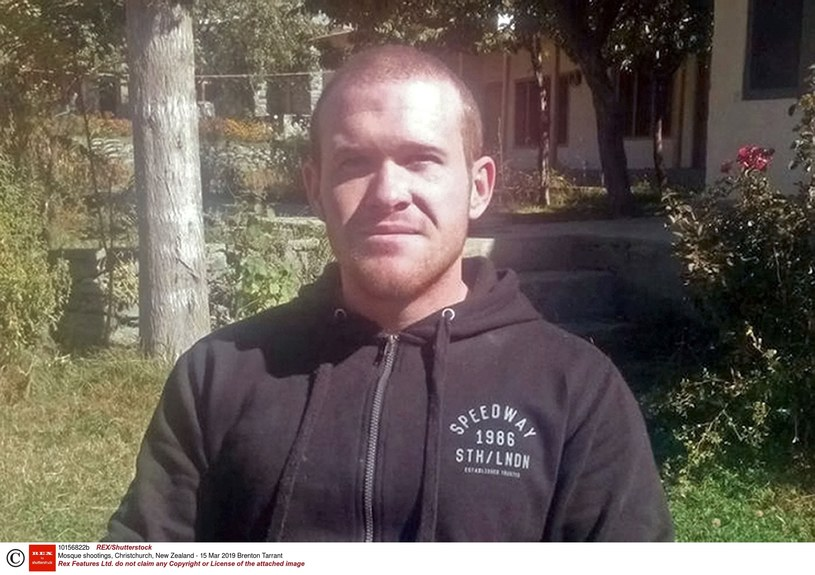 Sprawca ataku w Nowej Zelandii Brenton Tarrant /East News