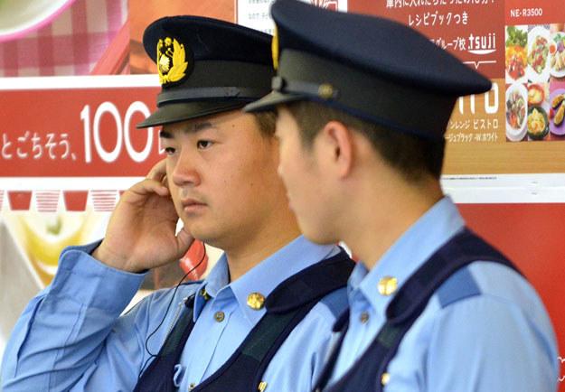 Sprawca gwałtów został zatrzymany przez japońską policję fot. Yoshikazu Tsuno /AFP
