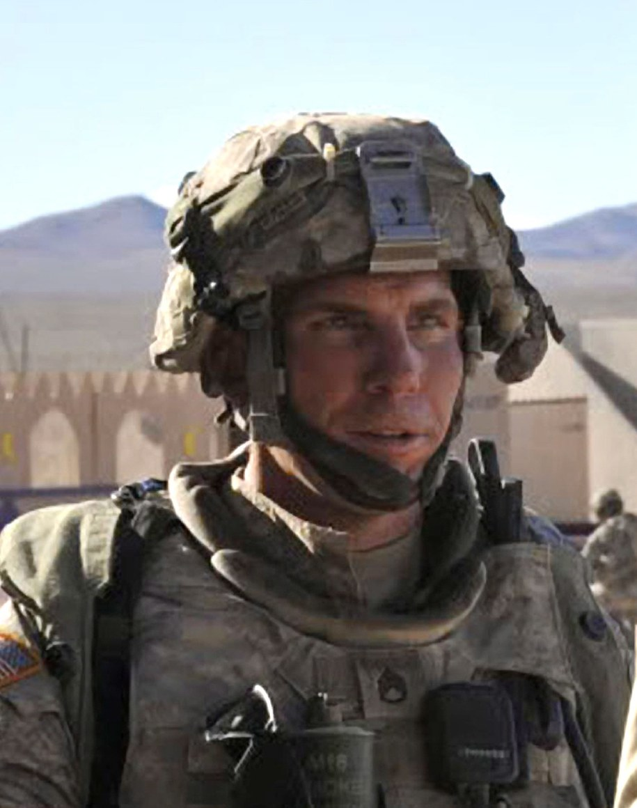 Sprawca masakry, sierżant Robert Bales /DVIDS/ HO FILE /PAP/EPA