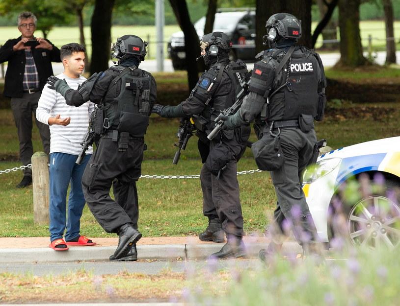 Sprawca masakry w Christchurch zamierzał dokonać więcej ataków /Martin Hunter /AFP