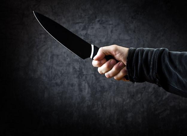 Sprawca zaatakował ofiarę nożem /Zdjęcie ilustracyjne /123RF/PICSEL