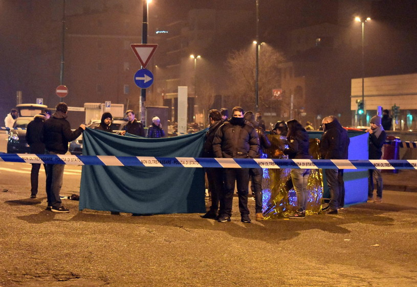 Sprawca zamachu został zastrzelony w Mediolanie /PAP/EPA