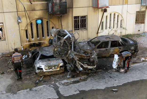 Sprawcami zamachu byli islamscy terroryści fot. Ali Al-Saadi /AFP
