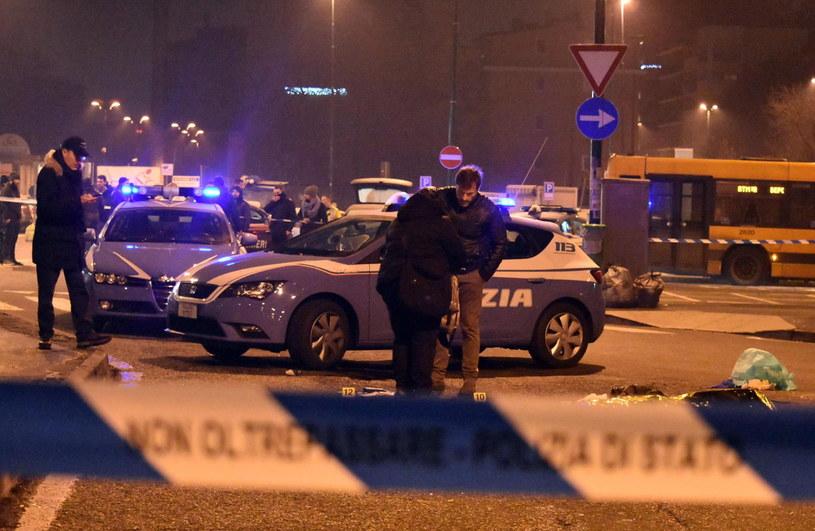 Sprawcę zamachu w Berlinie zastrzelono koło Mediolanu /DANIELE BENNATI  /PAP