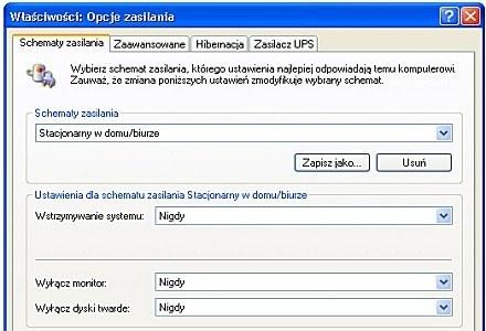 Sprawdzamy, czy laptop przechodzi w stan hibernacji. /CafePC.pl