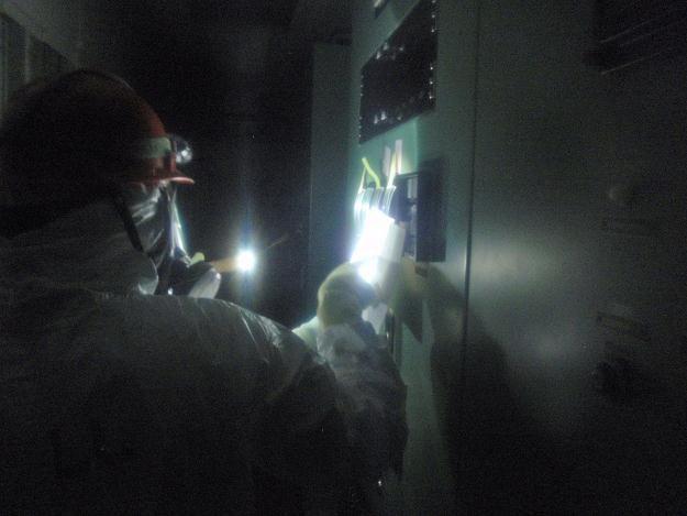 Sprawdzanie urządzeń w japońskiej elektrowni Fukushima I /AFP