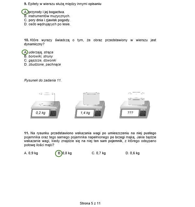 Sprawdzian szóstoklasisty 2014 /INTERIA.PL