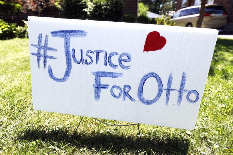 """""""Sprawiedliwość dla Otto"""" - Amerykanie domagają się wyjaśnienia okoliczności śmierci studenta. /Bill Pugliano /AFP"""