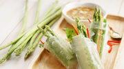 Spring rolls ze szparagami