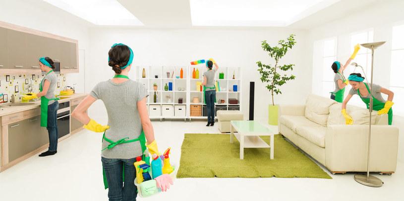Sprzątanie mieszkania /©123RF/PICSEL