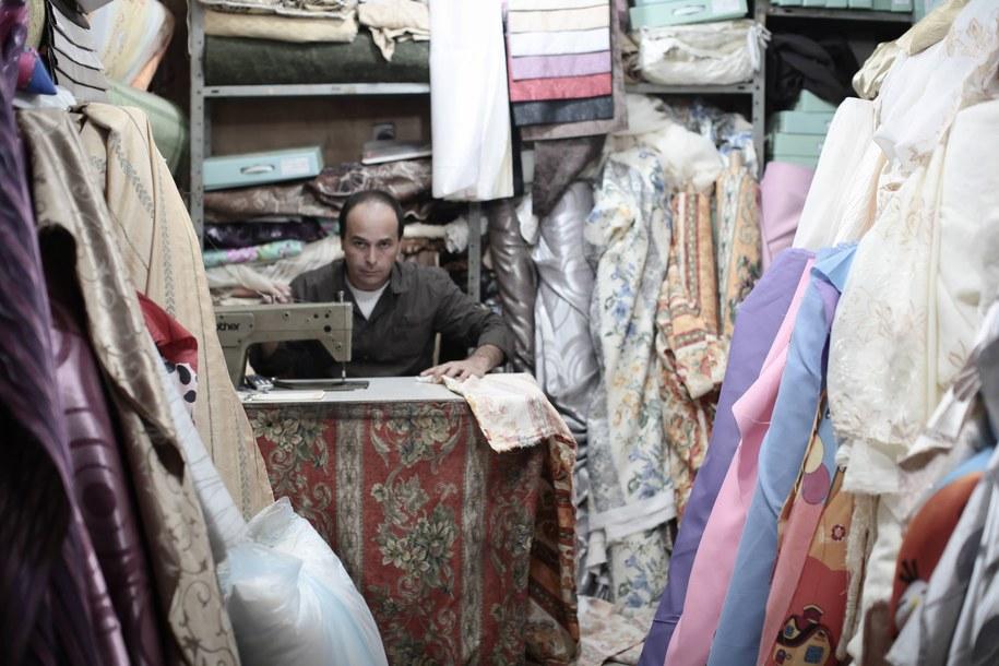 Sprzedawca w Jerozolimie /Richard Gray /PAP/EPA