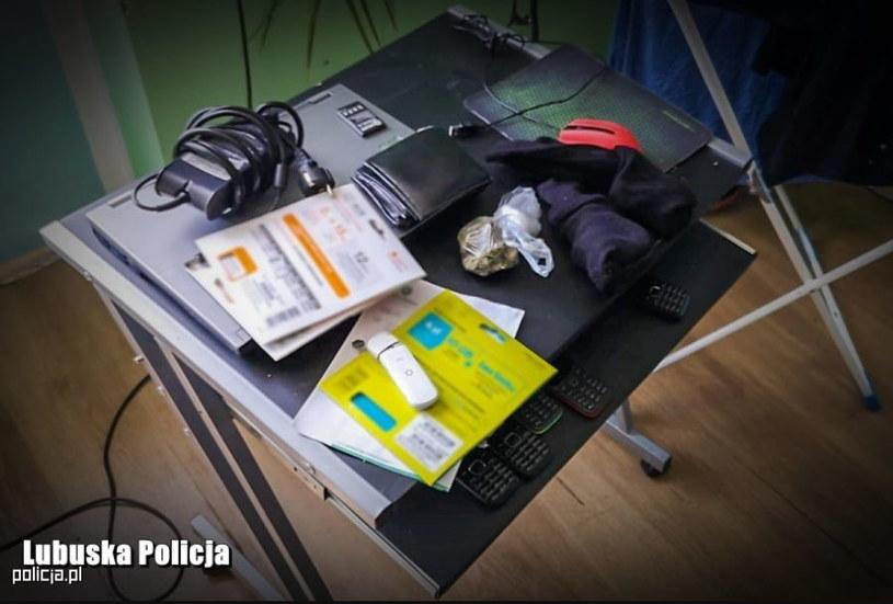 Sprzęt, z którego korzystali przestępcy /materiały prasowe