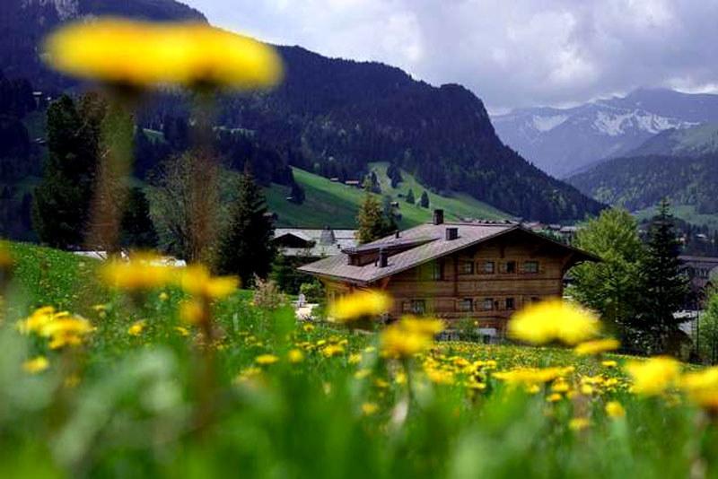 Sprzyjające warunki do uprawiania turystyki górskiej i rowerowej. /AFP