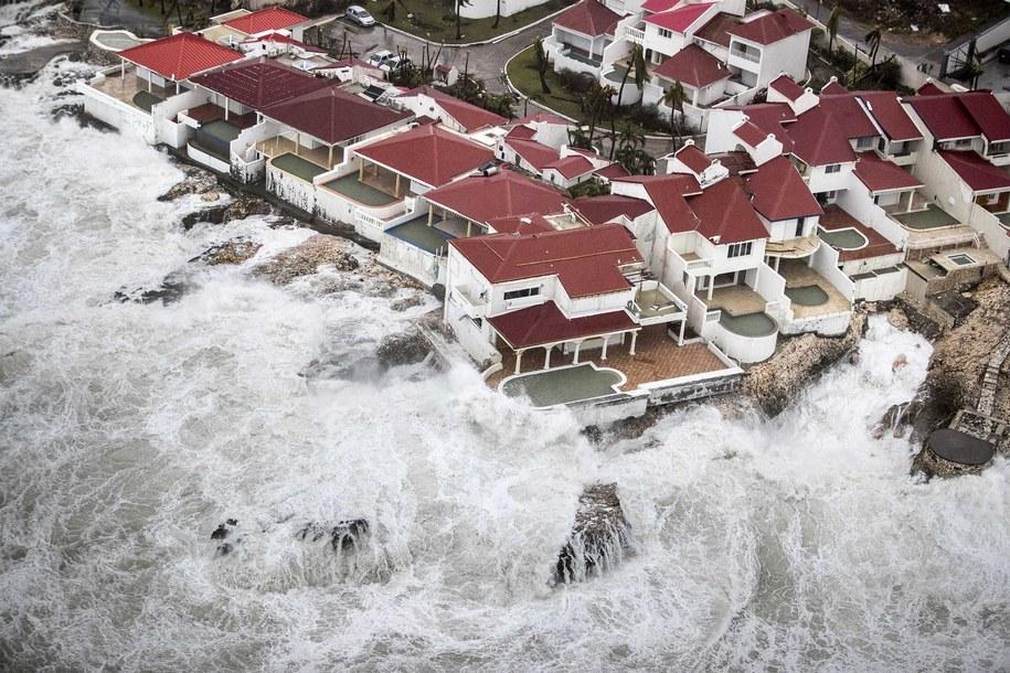 Spustoszona wyspa Sint Maarten //GERBEN VAN ES / DUTCH DEPARTMENT OF DEFENSE /PAP/EPA