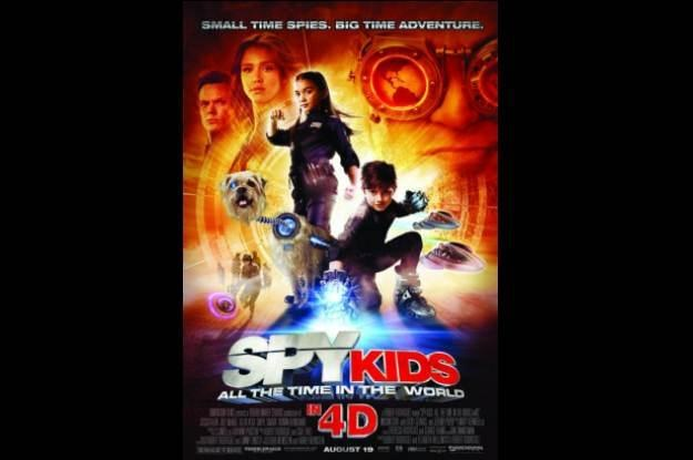 Spy kids 4D: All the time in the world - plakat filmu /materiały prasowe