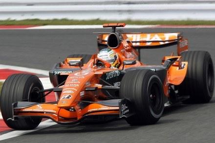 Spyker wystartuje jeszcze tylko w dwóch wyścigach / Kliknij /AFP