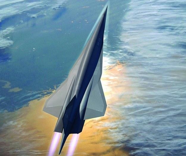 SR-72 - wizualizacja.  Fot. Lockheed Martin /materiały prasowe