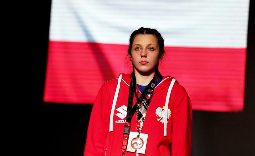 Srebrna medalistka, zawodniczka klubu Pomorzanin Toruń Barbara Marcinkowska / Piotr Polak    /PAP