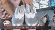 Srebrne i złote buty to hit tego sezonu