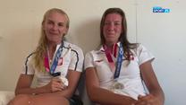 Srebrne wioślarki o medalowym wyścigu w Tokio (POLSAT SPORT). Wideo