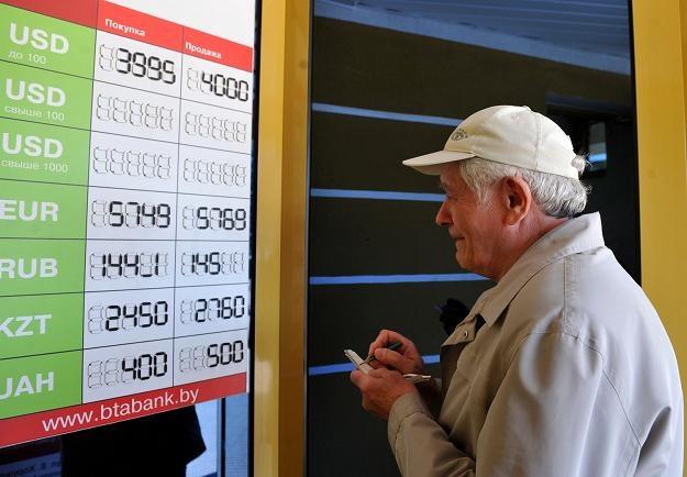 Średnia pensja na Białorusi wynosiła równowartość niecałych 500 dolarów /AFP