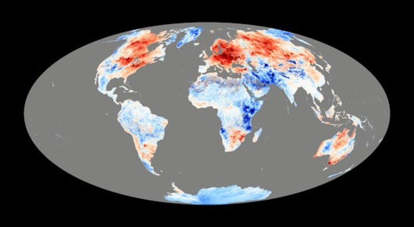 Średnia temperatura na Ziemi rośnie z każdym rokiem. Musimy podjąć działania, które chociaż spowolnią ten proces /East News