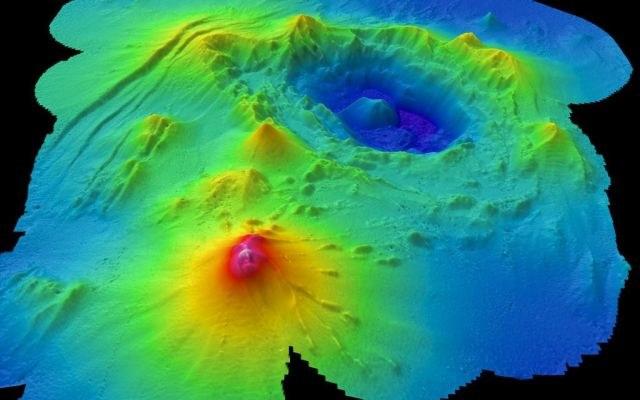 Średnica wulkanicznego płaskowyżu wynosi około 625 km, a jego wysokość to 4 kilometry /materiały prasowe