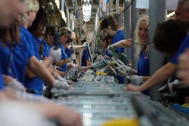 Średnio na 1 ha obszaru SSE przypadają 32 miejsca pracy, fot. Maciej Kulczyński /Reporter