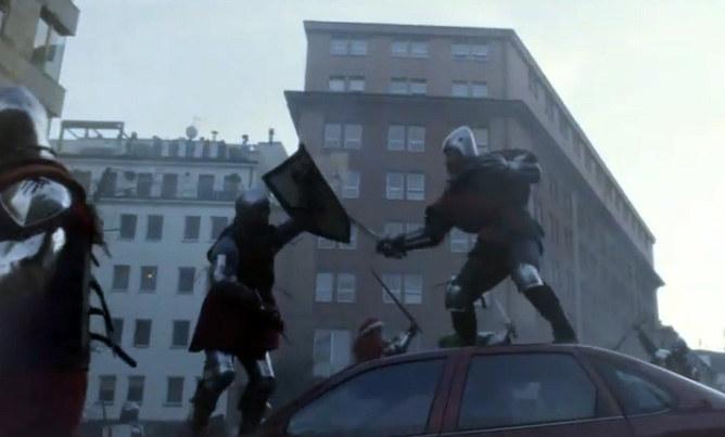 Średniowieczna bitwa na ulicach Warszawy - takie rzeczy tylko w Polsce /Ministerstwo Spraw Zagranicznych