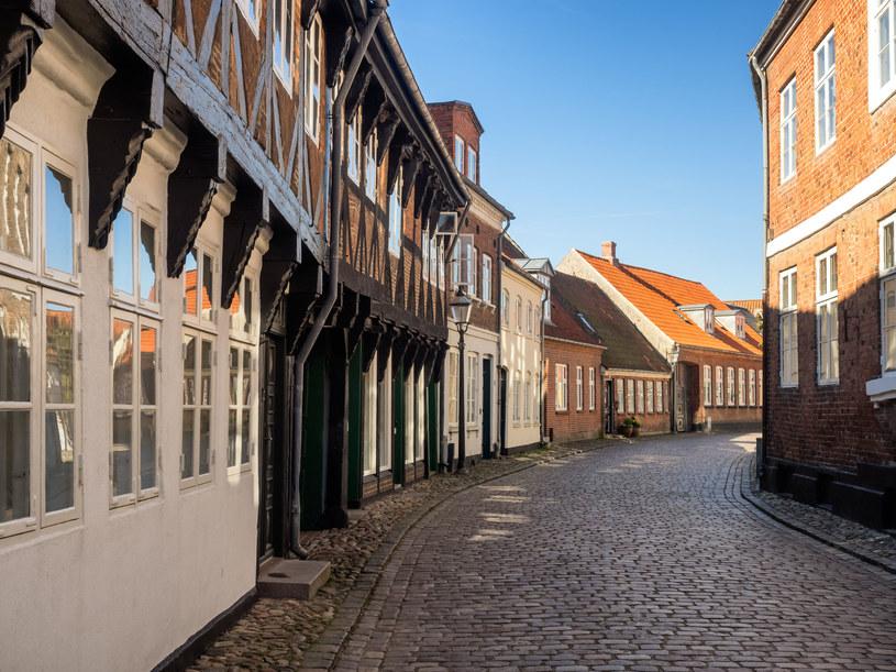 Średniowieczne uliczki w Ribe /123RF/PICSEL
