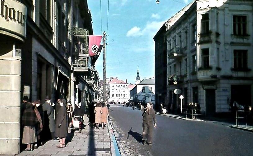 Śródmieście Kalisza podczas drugiej wojny światowej /Odkrywca