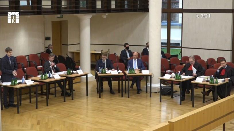 Środowa rozprawa w Trybunale Konstytucyjnym /materiały prasowe