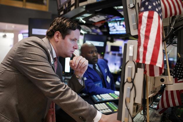 Środowa sesja na Wall Street przebiegała pod znakiem silnych spadków /AFP