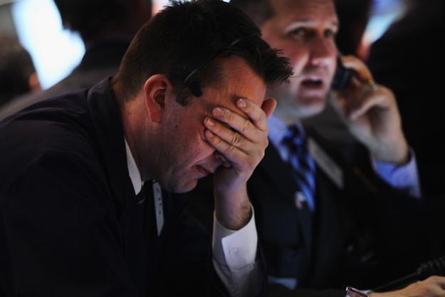 Środowa sesja na Wall Street przyniosła spadki /AFP