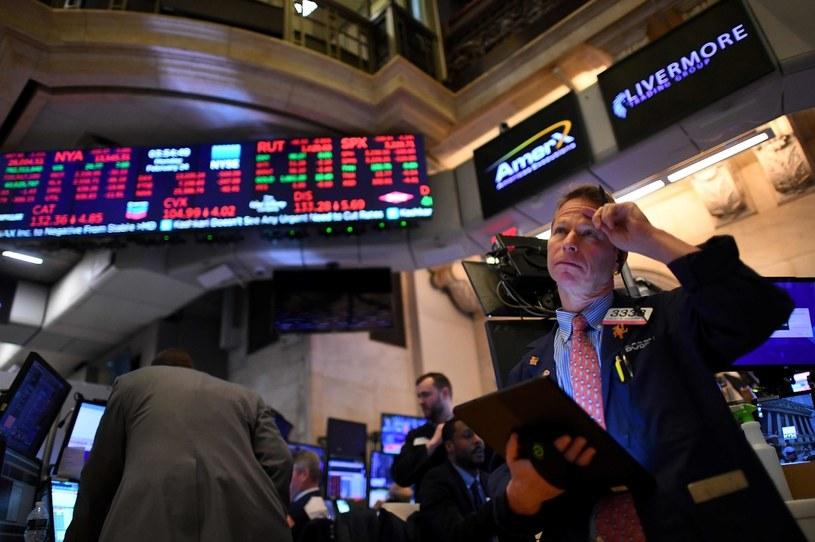 Środowa sesja na Wall Street zakończyła się spadkami głównych indeksów /AFP